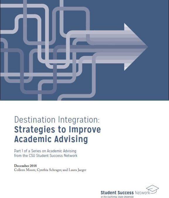 Destination Integration: Strategies to Improve Academic Advising